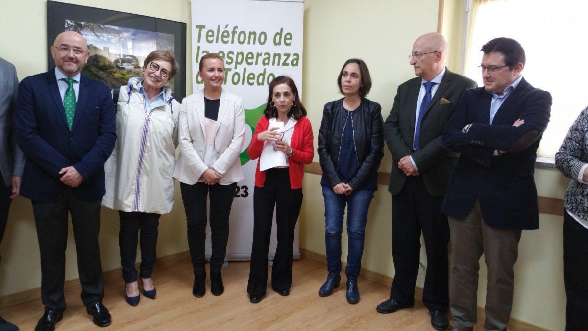 El Ayuntamiento cede un espacio como nueva sede para el Teléfono de la Esperanza en los antiguos chalets de la Escuela de Gimnasia