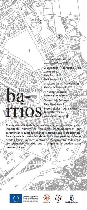 http://www.toledo.es/wp-content/uploads/2018/04/barrios.jpg. RUTA ARQUITECTURA CONTEMPORÁNEA Nuevos Barrios