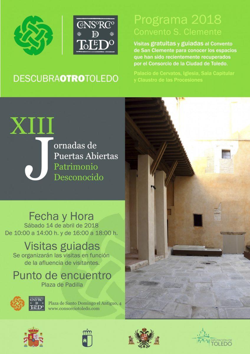 XIII Jornada de puertas abiertas. Patrimonio Desconocido