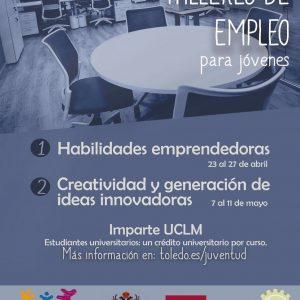 os jóvenes podrán adquirir las habilidades necesarias para emprender sus proyectos empresariales gracias al Ayuntamiento