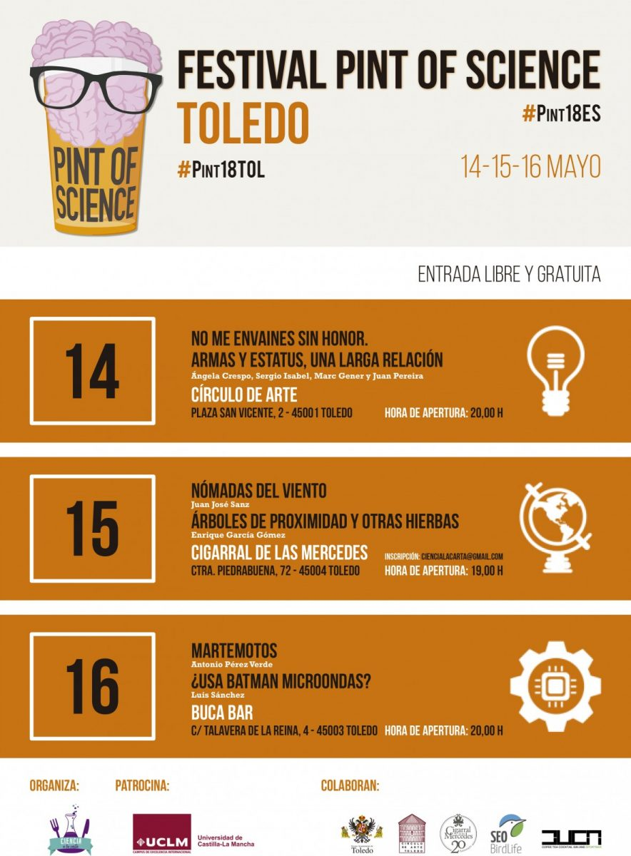 http://www.toledo.es/wp-content/uploads/2018/04/cartel_pos_toledo-884x1200.jpg. Festival Pint of Science Toledo