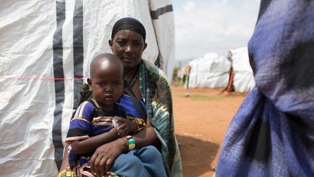 Miles huyen a Kenia para escapar de la violencia en Etiopía
