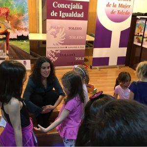 a Escuela Toledana de Igualdad organiza talleres infantiles para inculcar valores igualitarios entre hombres y mujeres