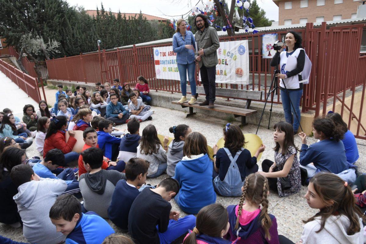 El Consistorio y Médicos del Mundo celebran el Día Internacional de la Salud con actividades y talleres para escolares toledanos