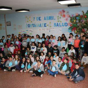 scolares del 'Jaime de Foxa' participan en un proyecto de Educación para el Desarrollo sobre el Día Mundial de la Salud