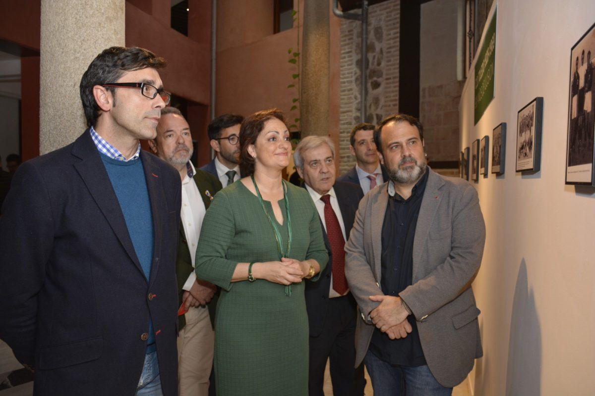 El CD Toledo conmemora sus nueve décadas de trayectoria con una exposición histórica en el Centro Cultural San Clemente