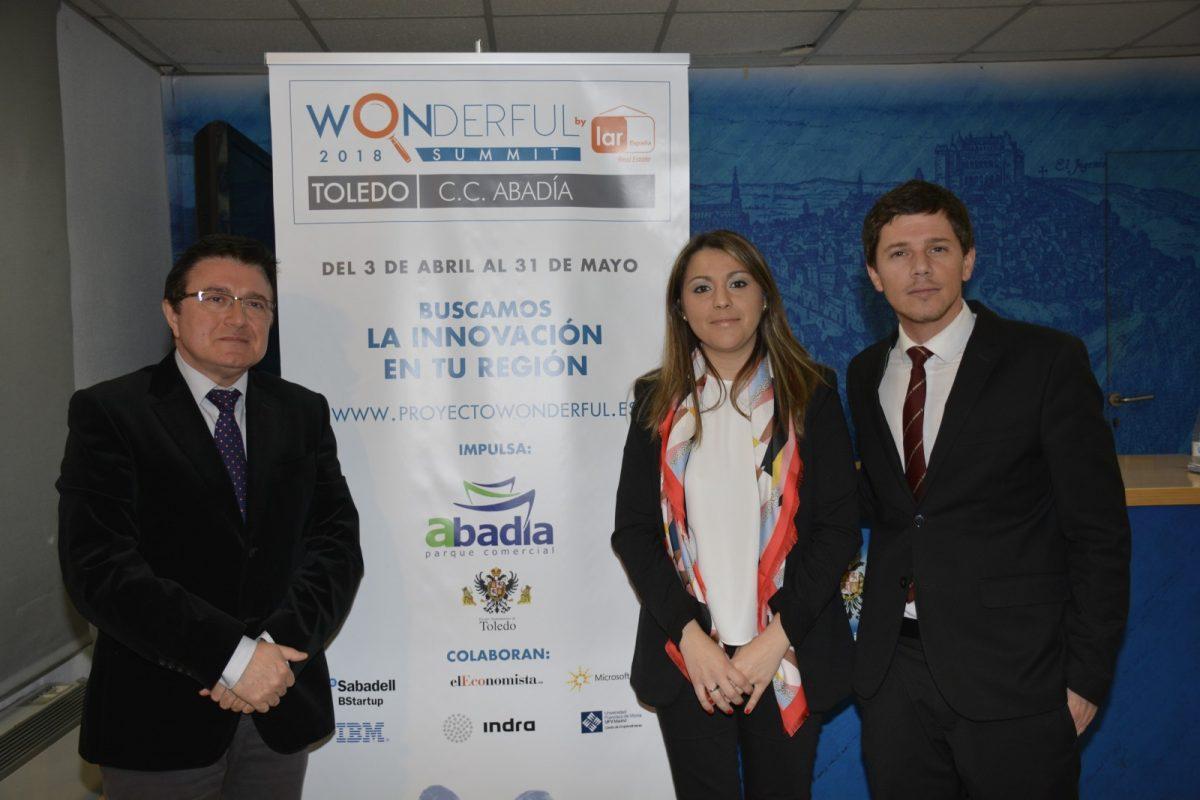 El Ayuntamiento y el Parque Comercial Abadía presentan el Concurso de Innovación Wonderful para apoyar el emprendimiento