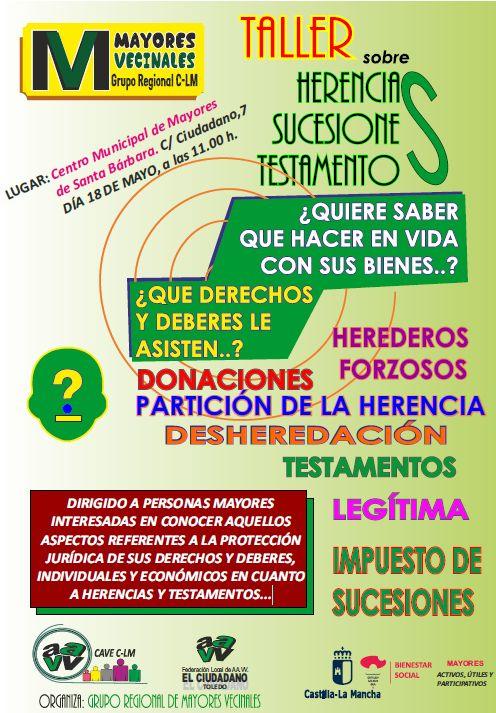 http://www.toledo.es/wp-content/uploads/2018/04/herencias.jpg. Taller herencia y sucesiones