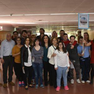 El Gobierno local participa en la ruta para conocer las entidades que tienen su sede en el Centro Social del Polígono