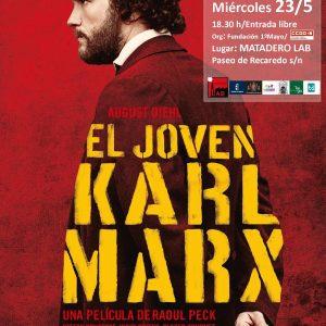 "Cine: ""EL JOVEN KARL MARX"" Dr: Raoul Peck."