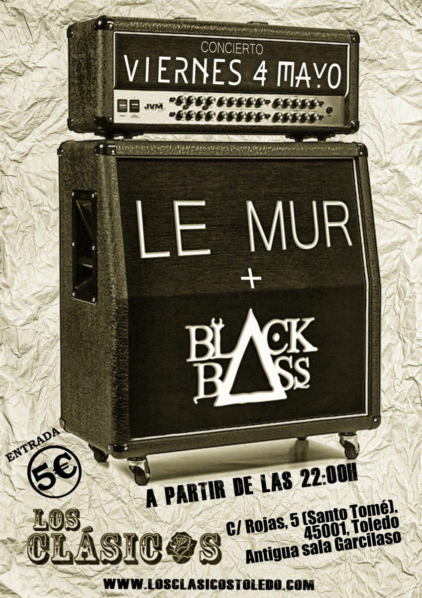 http://www.toledo.es/wp-content/uploads/2018/04/lemur-toledo-4-848x1200.jpg. LE MUR + BLACK BASS