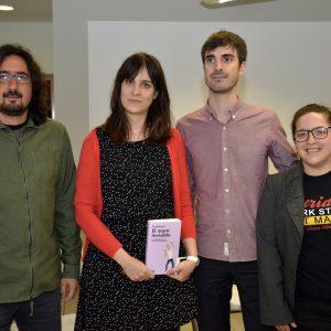 """El libro """"El muro invisible"""", presentado hoy en Toledo, analiza las dificultades que deben afrontar los jóvenes en la actualidad"""