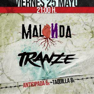 TRANZE + MALONDA