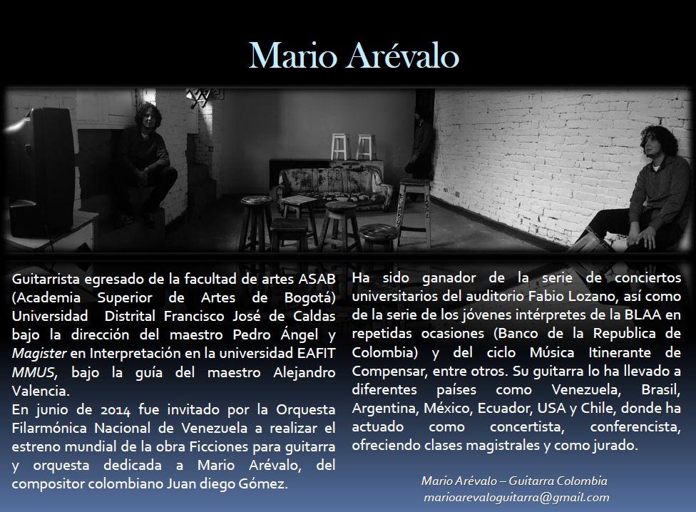 http://www.toledo.es/wp-content/uploads/2018/04/mariano-arevalo.jpg. Concierto de guitarra a cargo de Mario Armando Arévalo