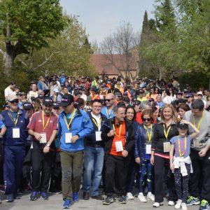 Marsodeto celebra su XXXIII Marcha con una amplia respuesta de participantes solidarios con las personas con parálisis cerebral