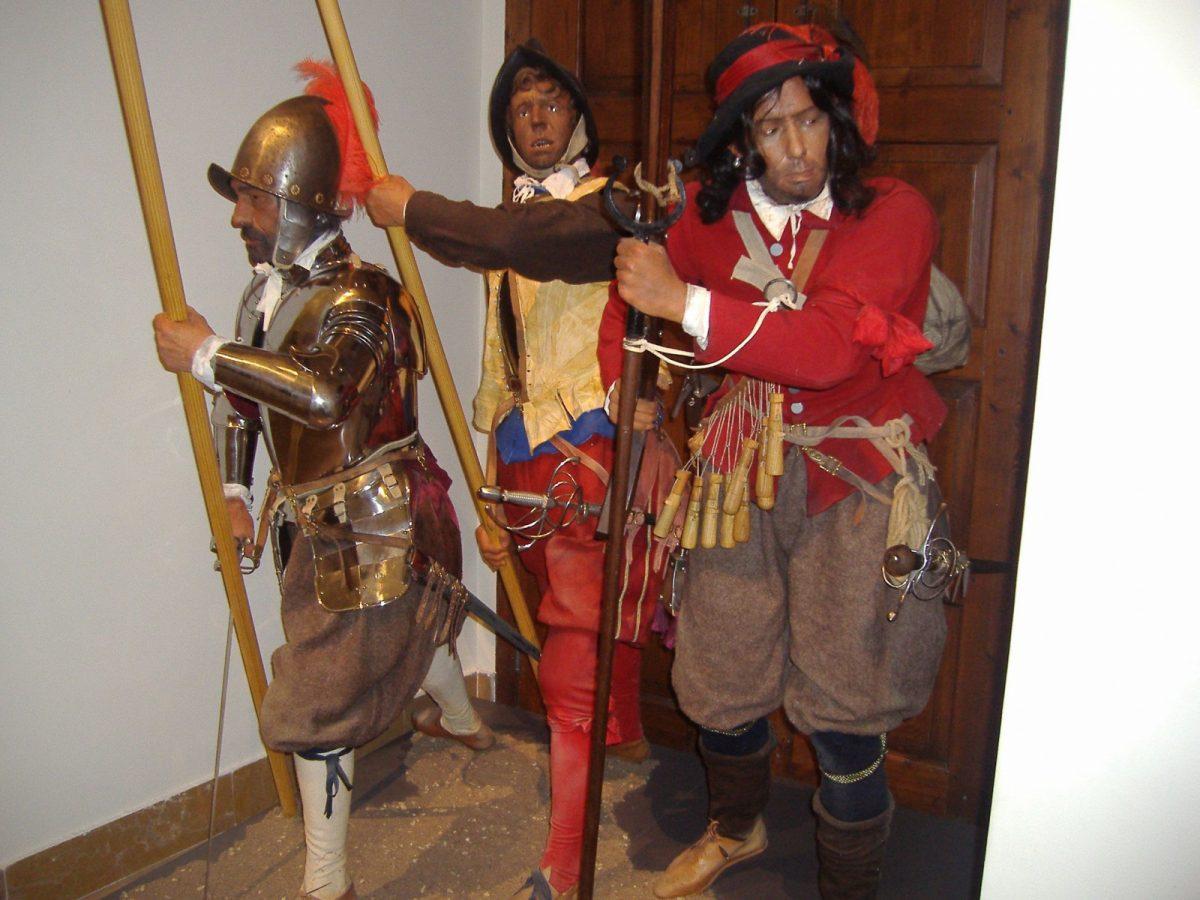 """http://www.toledo.es/wp-content/uploads/2018/04/museo-en-vivo-1200x900.jpg. Museo en vivo: """" Un soldado en los Tercios de Flandes """""""
