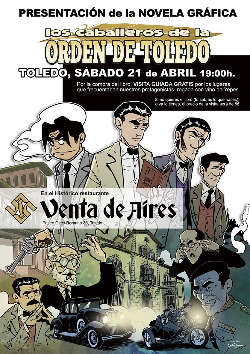 "http://www.toledo.es/wp-content/uploads/2018/04/novela-grafica.jpg. Presentación de la novela gráfica ""Los caballeros de la Orden de Toledo"""