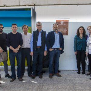El Ayuntamiento instala una placa en recuerdo y homenaje a las víctimas de accidentes laborales y enfermedades profesionales
