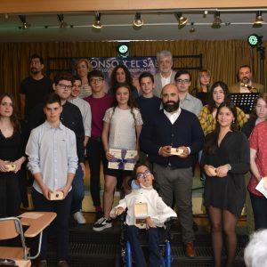 El equipo de Gobierno participa en la entrega de los II Premios Comunidad del instituto 'Alfonso X El Sabio