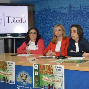 Toledo celebra su XVI 'Día del Vecino' el próximo domingo en el parque de Safont bajo el lema 'La movilización es la solución'