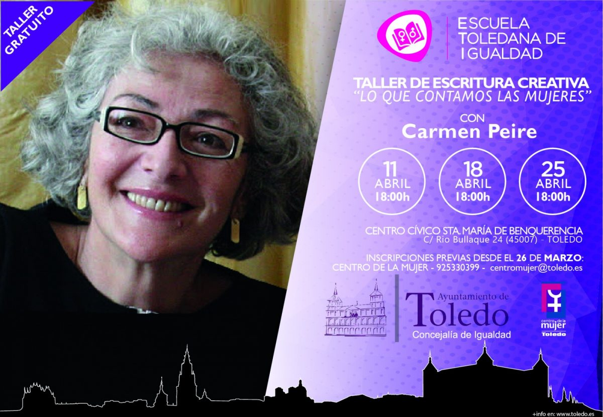 "http://www.toledo.es/wp-content/uploads/2018/04/taller-escritura-creativa-1200x830.jpg. Taller: ""Lo que contamos las mujeres. Taller de Escritura Creativa"""