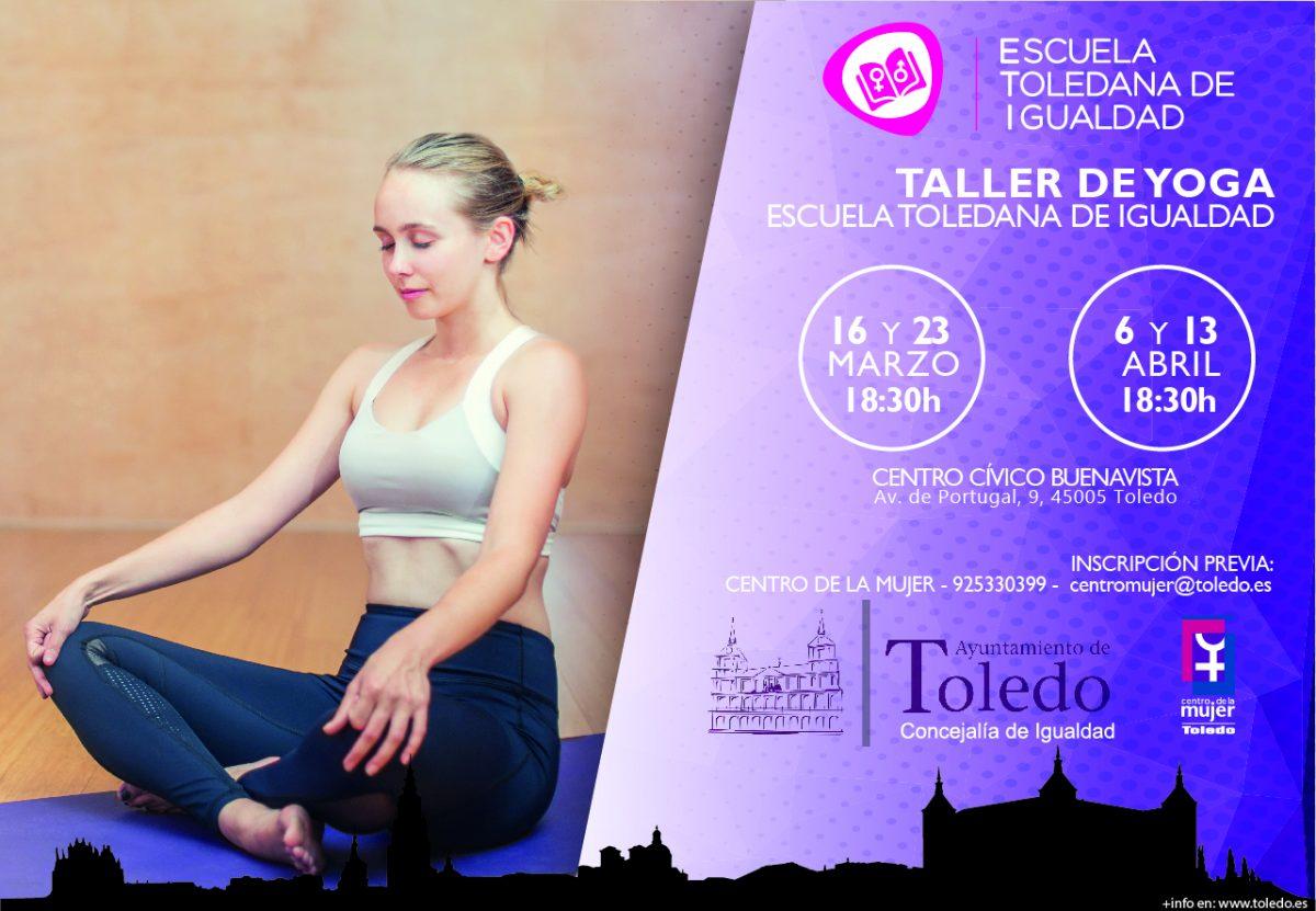 Taller de Yoga para mujeres Marzo/Abril 2018