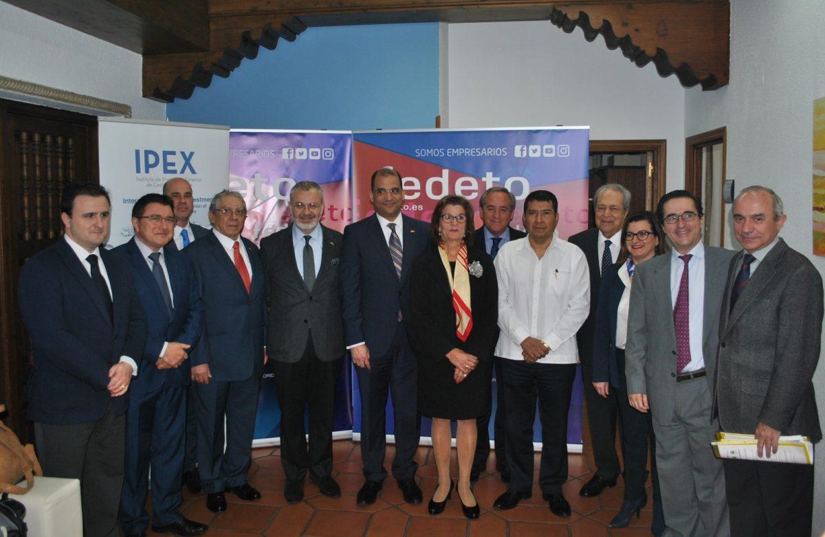 El Consistorio participa en la inauguración del 'Foro sobre Oportunidades en Centroamérica y el Caribe' de FEDETO