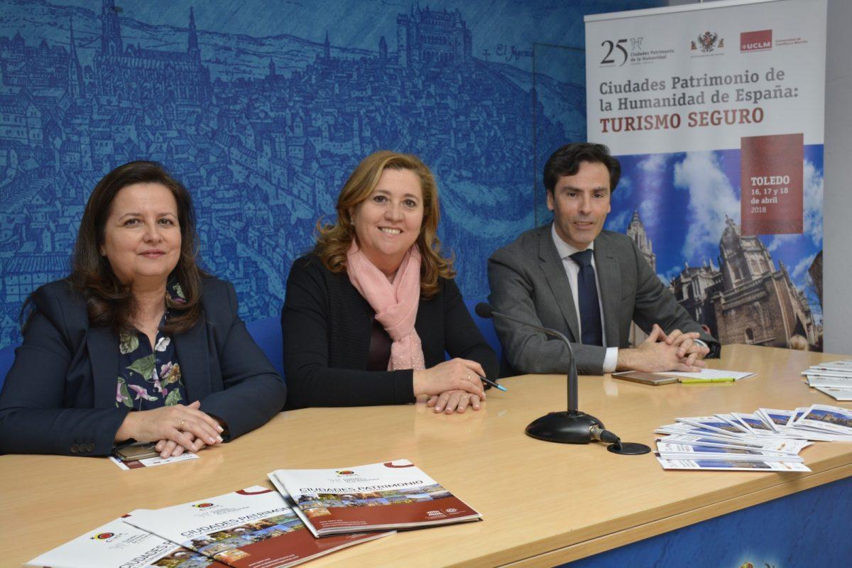 El Grupo Ciudades Patrimonio abordará en Toledo la seguridad en el ámbito turístico con expertos en cultura, tecnología y justicia