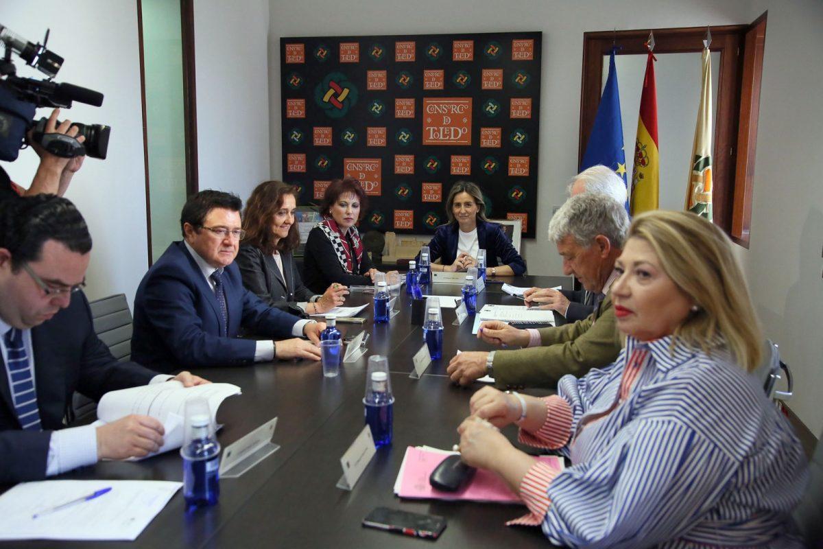 http://www.toledo.es/wp-content/uploads/2018/05/01_ejecutiva_consorcio-1200x800.jpg. La Comisión Ejecutiva del Consorcio aprueba la licitación del nuevo espacio escénico 'El Cafetín' del Teatro de Rojas