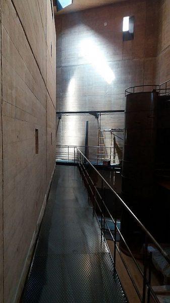 025 14-09-2017 Construcción de la pasarela lateral de la planta segunda