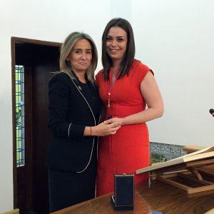 Nuria Cogolludo toma posesión como nueva concejala del Ayuntamiento y asume las competencias de Cultura y Educación
