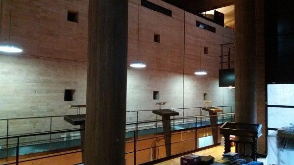 047 26-09-2017 Iluminación de la pasarela central