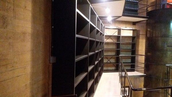 118 12-04-2018 Mejora de la iluminación de las estanterías laterales