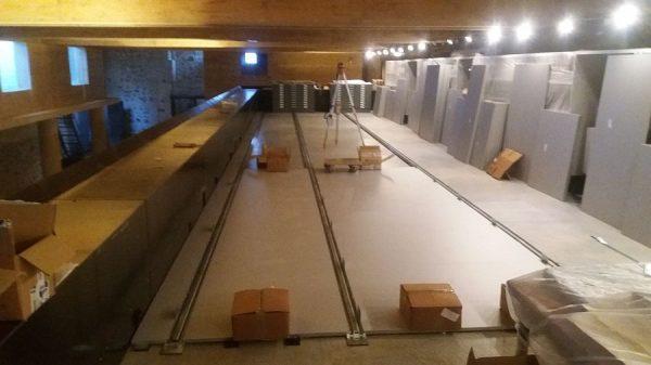 126 16-04-2018 Instalación de las estanterías móviles en la planta tercera