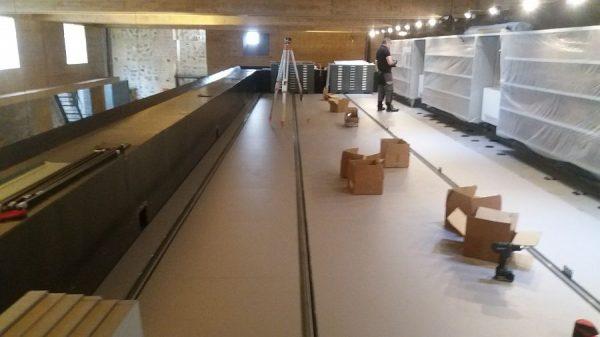 128 16-04-2018 Instalación de las estanterías móviles en la planta tercera