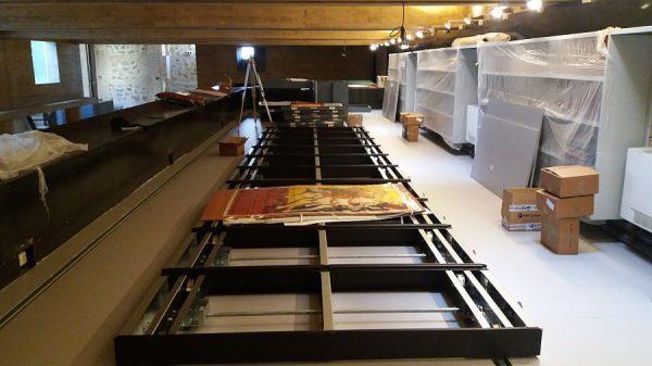 129 16-04-2018 Instalación de las estanterías móviles en la planta tercera