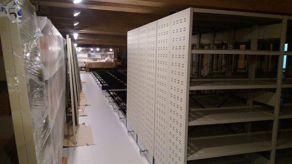 132 17-04-2018 Instalación de las estanterías móviles en la planta tercera