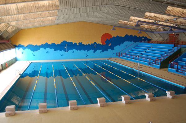 http://www.toledo.es/wp-content/uploads/2018/05/308299-560216-1.jpg. La rotura de una tubería mantendrá cerrada, previsiblemente hasta el jueves, la piscina climatizada del Salto del Caballo