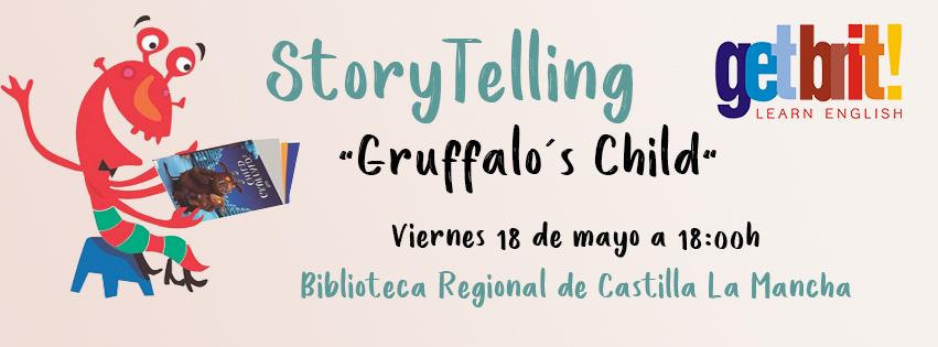 "https://www.toledo.es/wp-content/uploads/2018/05/actividad-biblioteca-regional-clm-002.jpg. Story telling ""Gruffalo´s child"""
