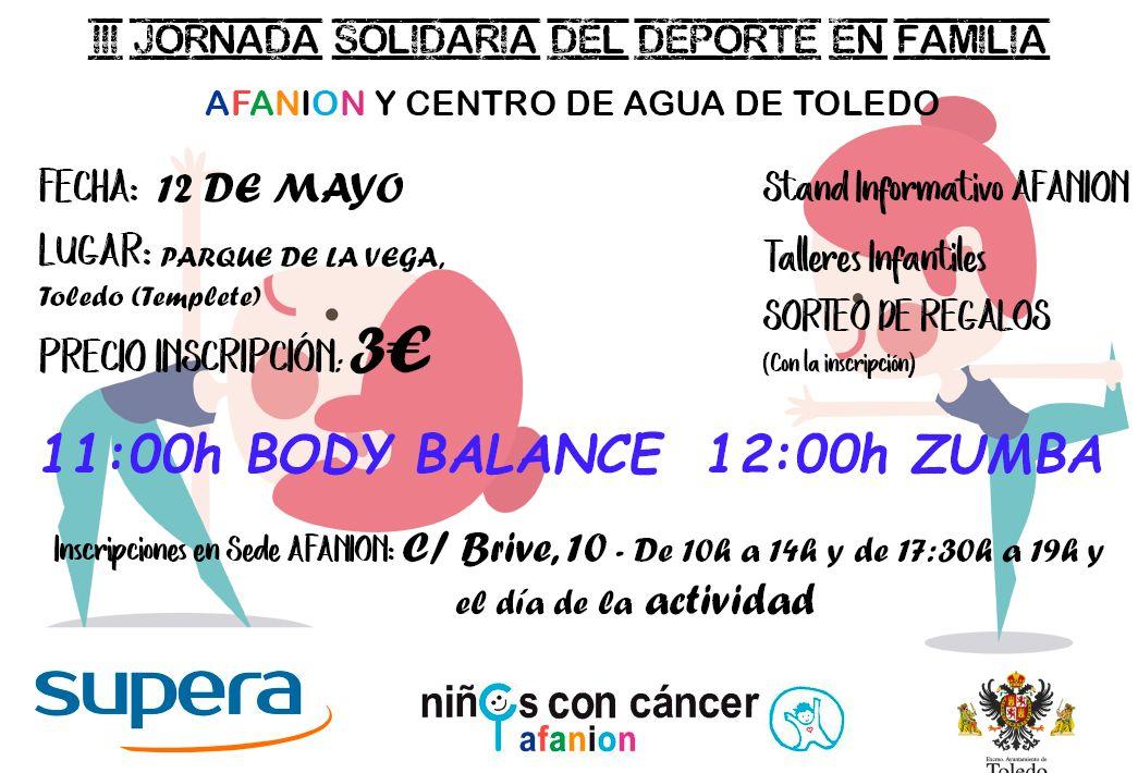 http://www.toledo.es/wp-content/uploads/2018/05/afanion.jpg. III Jornada Deporte Solidario en Familia – Niños con Cáncer