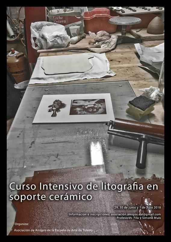 Curso Intensivo de litografía sobre soporte cerámico