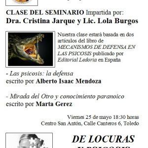 """Seminario de Psicoanálisis """"De locuras y psicosis"""""""
