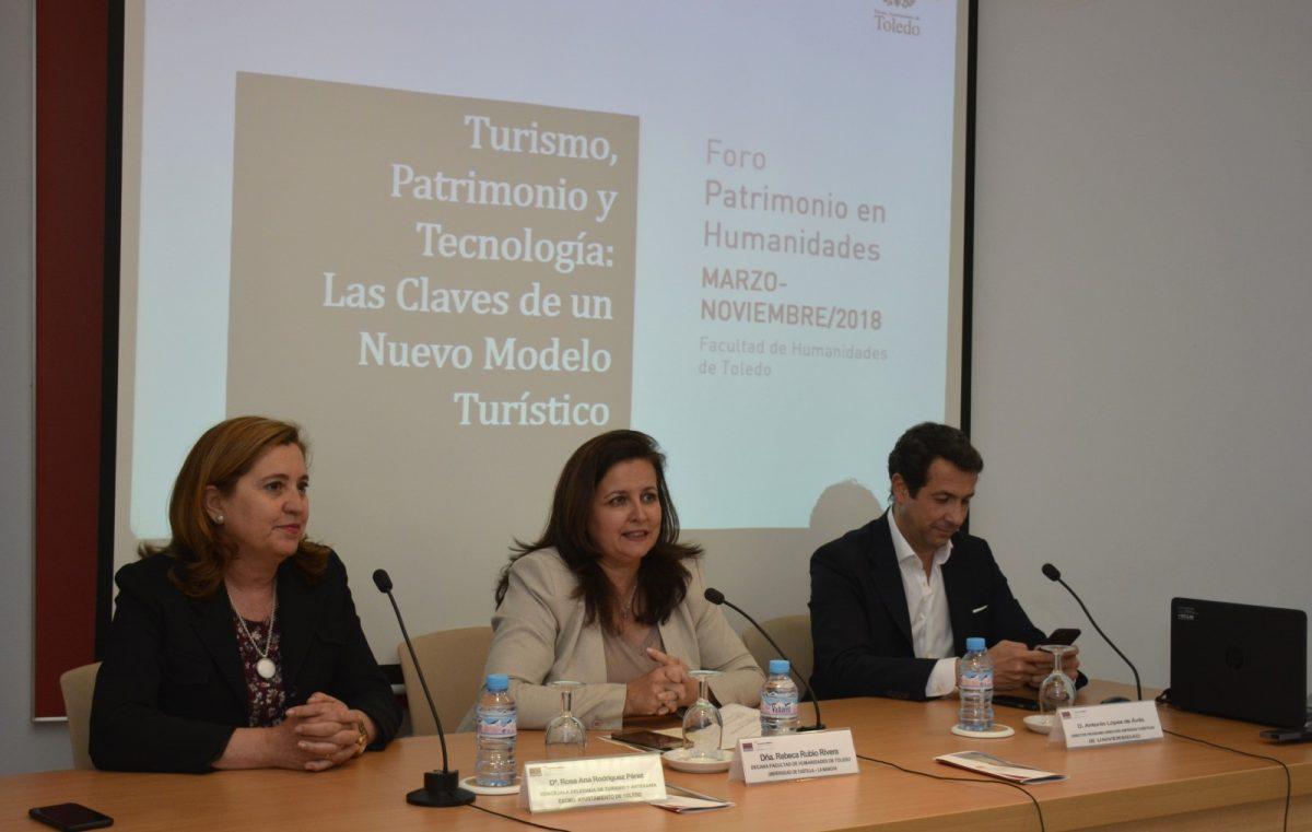 """https://www.toledo.es/wp-content/uploads/2018/05/conferencia-patrimonio-en-humanidades-01-1200x761.jpg. El Consistorio patrocina la charla """"Turismo, patrimonio y tecnología: las claves de un nuevo modelo turístico"""""""
