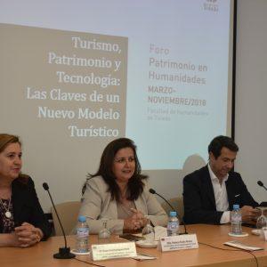 """El Consistorio patrocina la charla """"Turismo, patrimonio y tecnología: las claves de un nuevo modelo turístico"""""""
