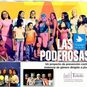 """ovimiento por la Paz, con el apoyo del Ayuntamiento de Toledo, sensibiliza a centenares de alumnos/as con el proyecto """"Las poderosas"""""""