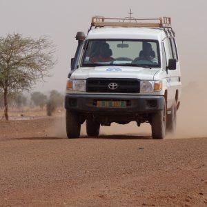 esaparecido un convoy con 10 trabajadores humanitarios en Sudán del Sur