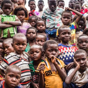 Los niños están muriendo de hambre en el Congo