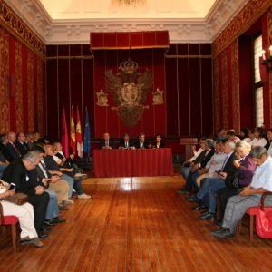 El Ayuntamiento recibe a los participantes del XI Encuentro del Foro Iberoamericano de Entidades Médicas (FIEM)