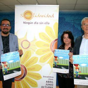 l Ayuntamiento y La Voz del Barrio organizan un concurso de graffitis centrado en los lemas de la campaña Solidaridad 365+1