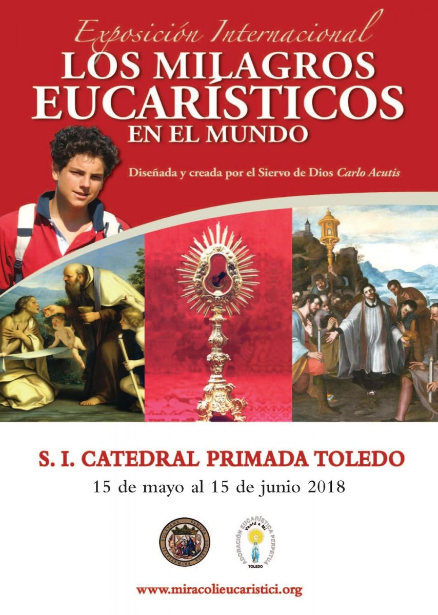 Exposición Internacional Milagros Eucarísticos